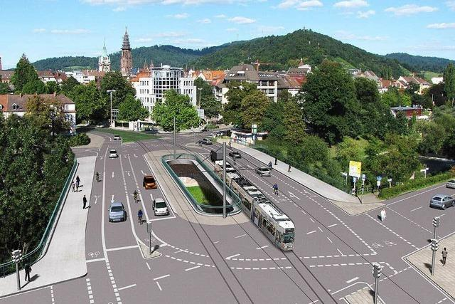 So spektakulär wird der Abriss der Kronenbrücke in Freiburg