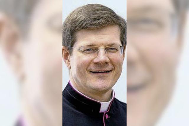 Erzbischof Burger mit Dienstauto umwelttechnisch im grünen Bereich