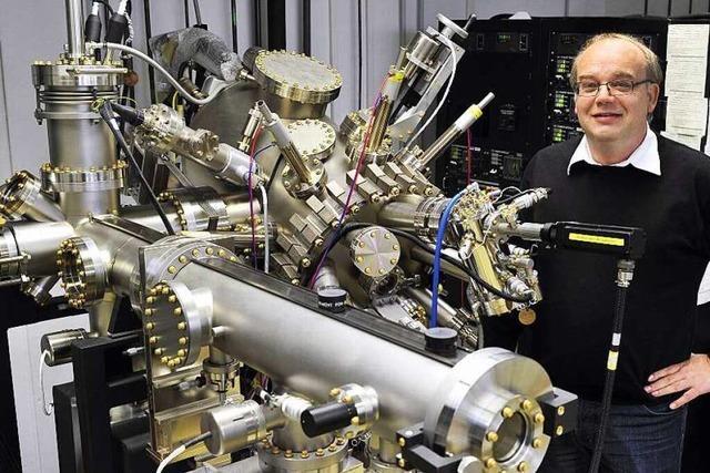 Der Elektrotechniker Jürgen Wöllenstein entwickelt Gassensoren