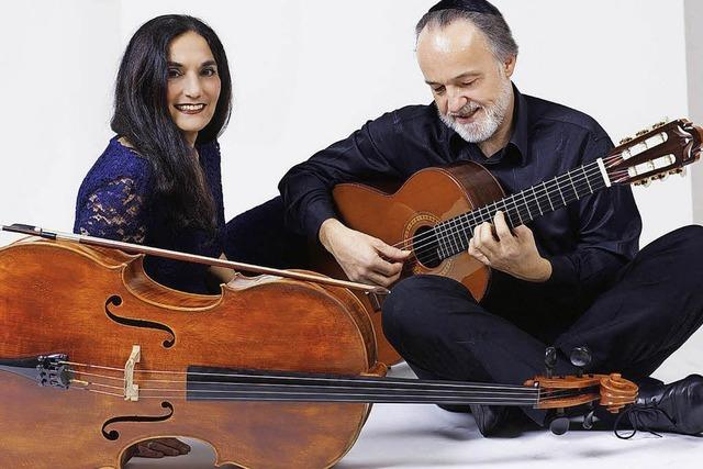 Ariana Burstein & Roberto Legnani im Haus Salmegg in Rheinfelden