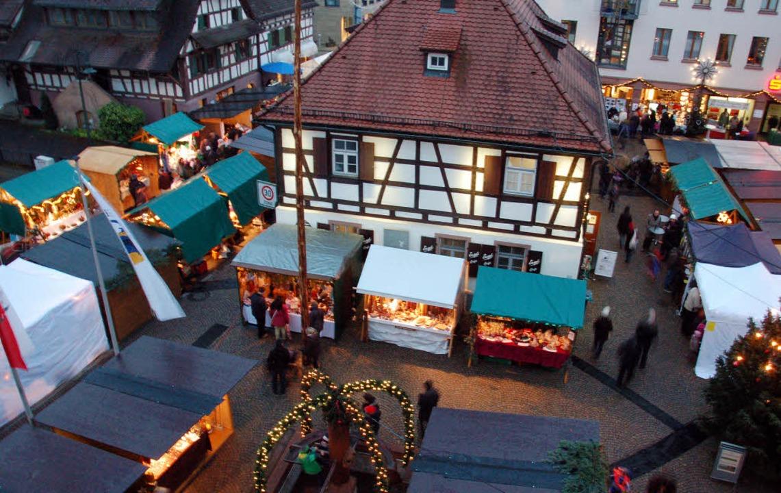 Weihnachtsmarkt Gundelfingen.Die Bunte Mischung Macht S Gundelfingen Badische Zeitung