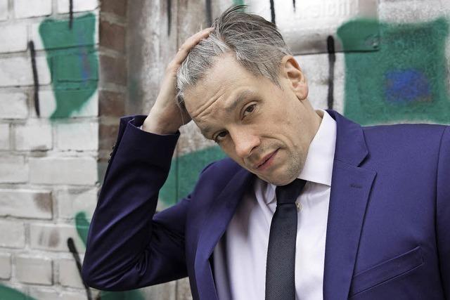 Polit-Kabarettist Mathias Tretter in Bonndorf