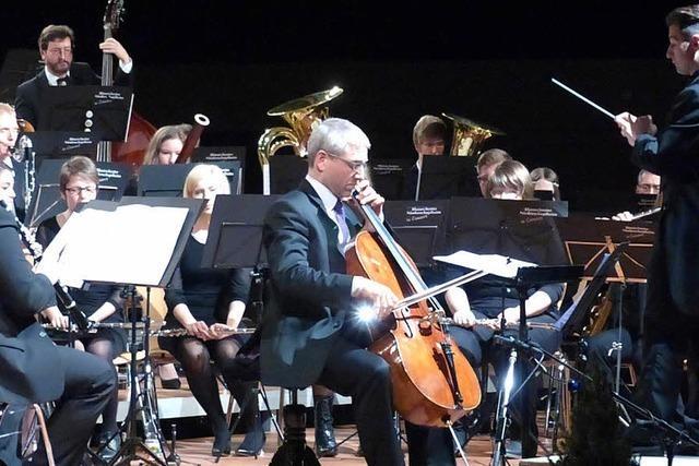 Glanzvolles Konzert, besonderer Gast