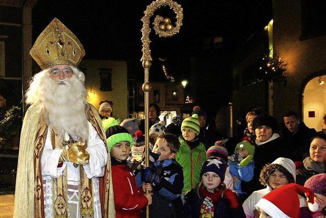 Elzach feiert seinen Schutzpatron St. Nikolaus
