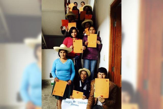 Hilfe für Peru geht weiter