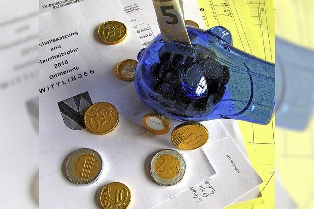 Wittlinger Gemeindefinanzen - jetzt geht's an die Rücklagen