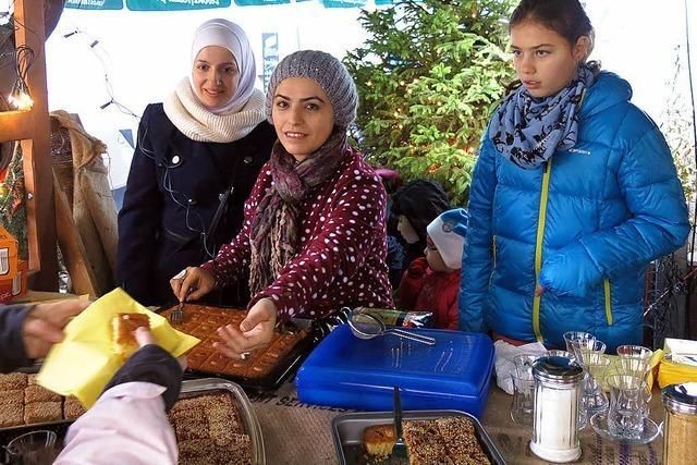 Zimtsterne und türkischer Tee