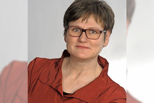 Rotes Steuerrad der SPD für Leni Breymaier