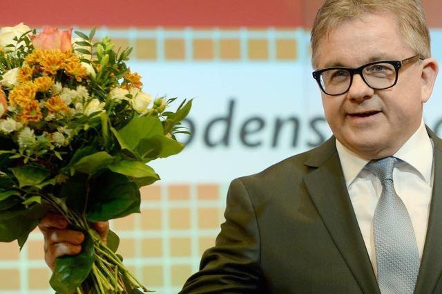 In welchem Amt profiliert sich Guido Wolf für die Wahl?