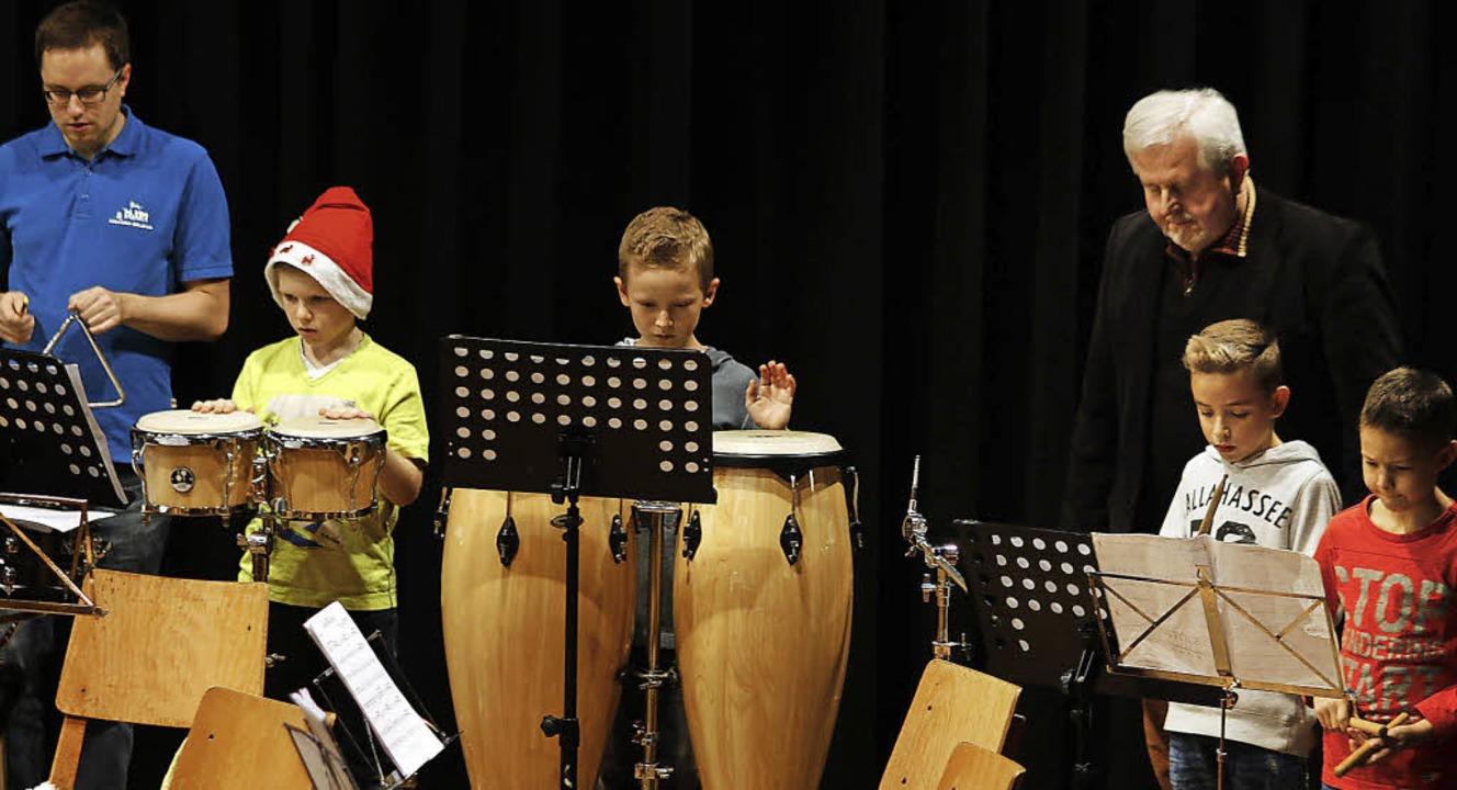 Vielseitig ausgebildet werden Kinder u...MV Seelbach, das bewies ihr Konzert.    | Foto: heidi fössel