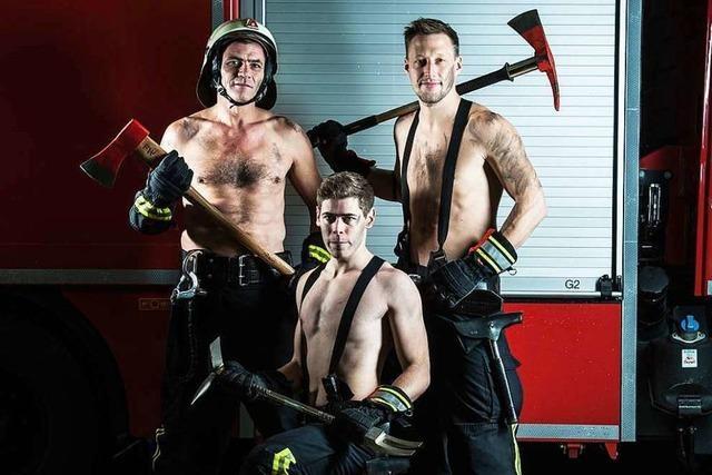 Freiwillige Feuerwehr St. Georgen präsentiert sich in einem brandheißen Fotokalender
