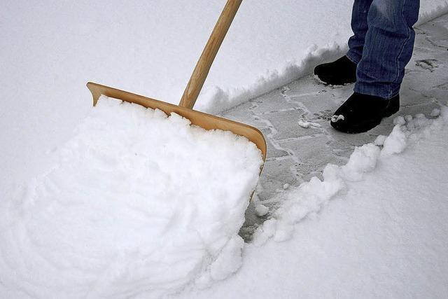 Wer muss wo, wie viel Schnee in Denzlingen räumen?