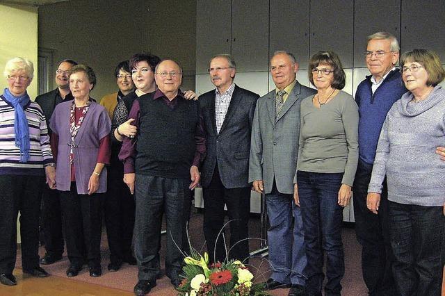 Herbert Rombach zum Ehrendirigenten ernannt