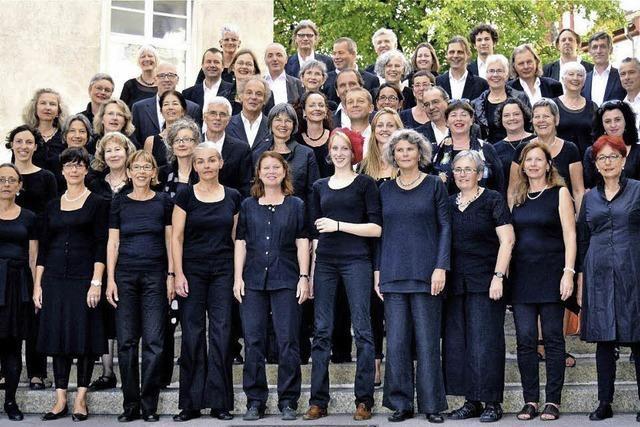 Contrapunkt Chor singt in der Kirche Heiligkreuz Binningen