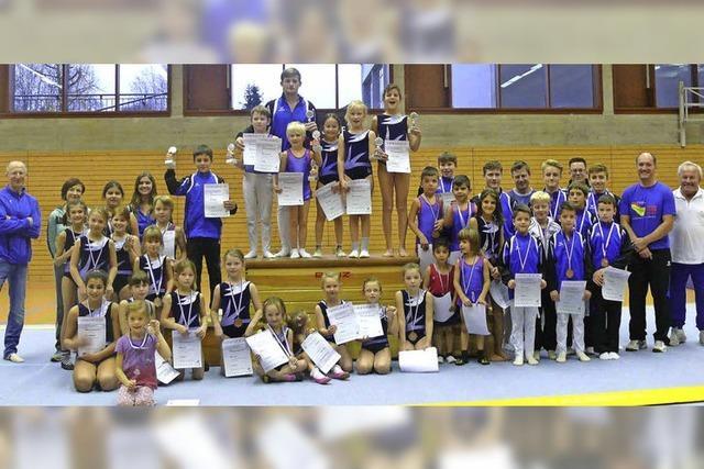 Die Vereinsmeisterschaften mit Nikolausvorführung beendet