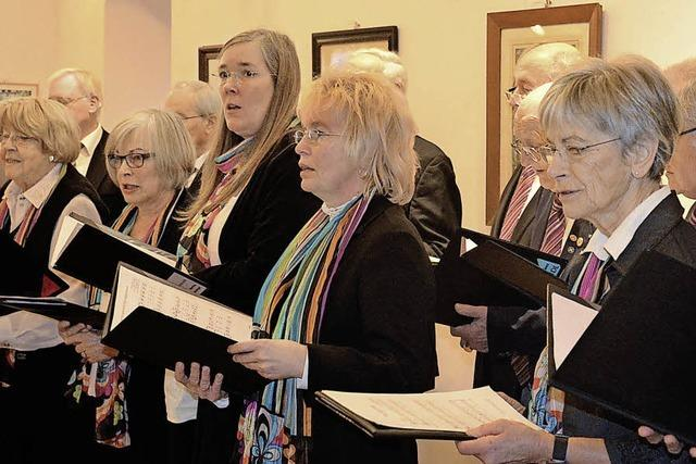 Singend Freude bereiten und helfen