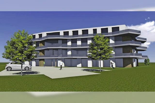 Filetgrundstück für 21 Wohnungen