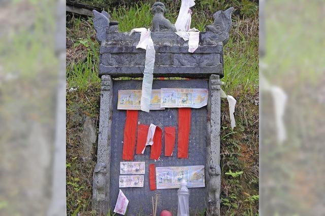 Bestattete Tote werden wieder ausgegraben