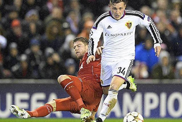 Champions League: Der FC Basel zieht ins Achtelfinale ein