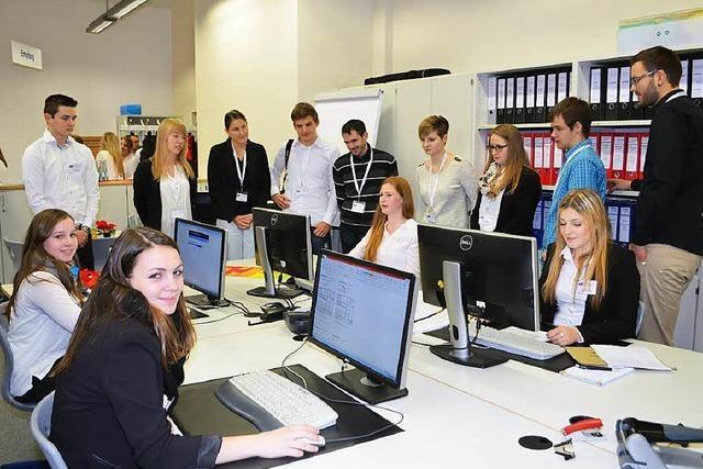 BSZ-Schüler machen weltweit virtuelle Geschäfte