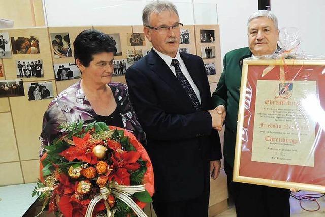 Friedolin Neumaier ist jetzt Ehrenbürger