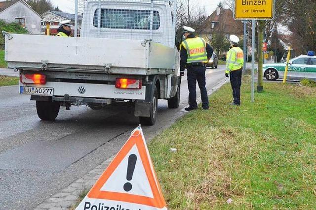 Polizei verstärkt die Kontrollen – tagsüber und nachts