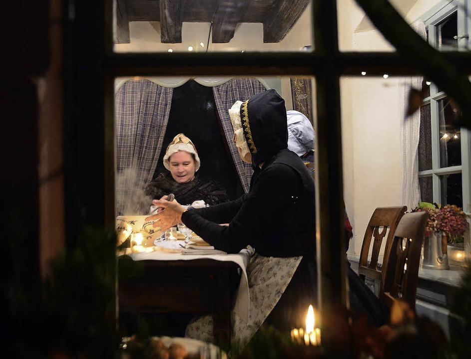 Blick in eine andere Zeit: Wie verbrac...inst die Vorweihnachtszeit  im Elsass?  | Foto: Monique Reinbold