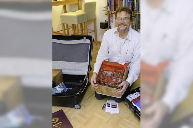 Diakon Johannes Timm aus Freiburg startet sein eigenes Entwicklungshilfeprojekt