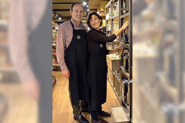 Neuer Laden für Feinkost und Wein