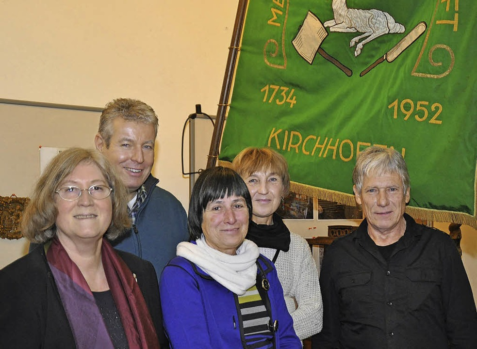 Zufriedene Forscher (von links): Erika...mann, Gertrud Eckerle  und Josef Glatz  | Foto: Julius Wilhelm Steckmeister