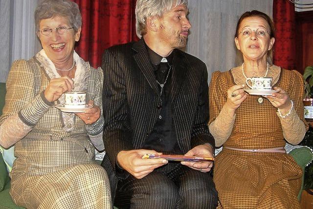 Ein mörderisches Vergnügen mit zwei netten Tanten