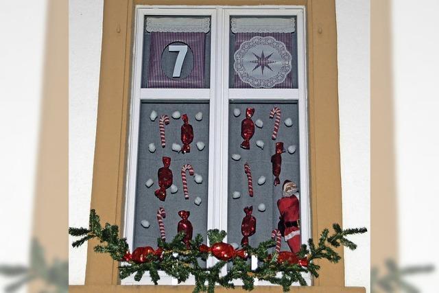VON 1 BIS 24: Sechs Fenster für den Advent