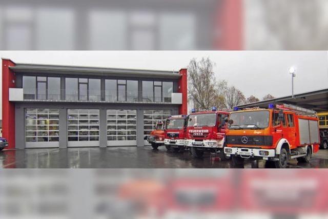 Zwei Feuerwehren unter einem Dach