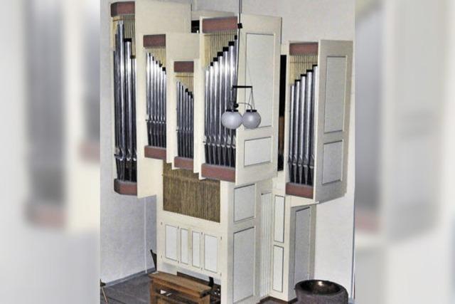 Tzschöckel-Orgel als Himmelsleiter