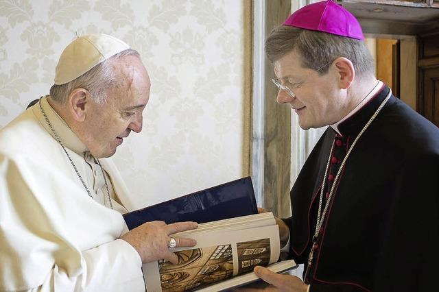 Freiburgs Erzbischof Burger trifft Papst Franziskus