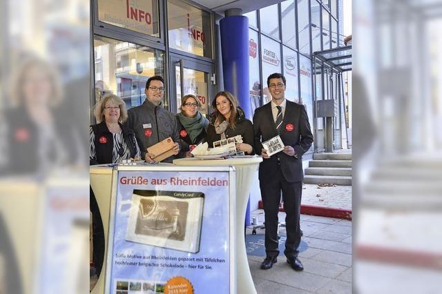 Die Tourist-Info Rheinfelden macht in den ersten zehn Monaten nach ihrer Gründung gute Erfahrungen
