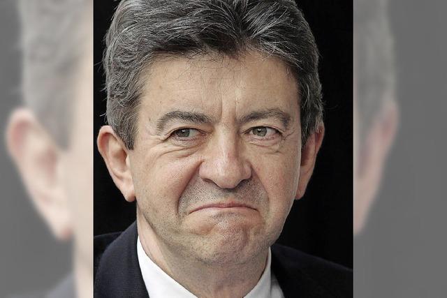 GRENZGÄNGER: Maul zu, Monsieur Mélanchon!