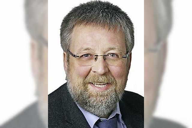 """Wolfgang Schmitt (CDU): """"Schulstandort sichern und entwickeln"""""""
