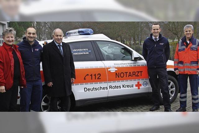 Rettungswache Bad Krozingen kauft neuen Audi Q5 mit Spezialausstattung
