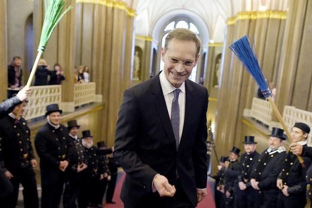 Michael Müller ist neuer Regierender Bürgermeister