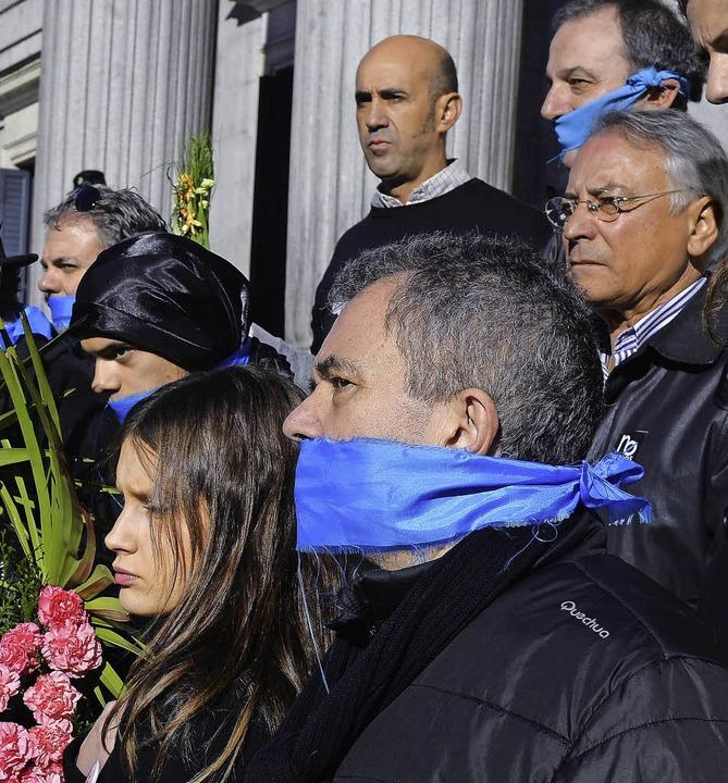 Protest gegen das Gesetz   | Foto: AFP
