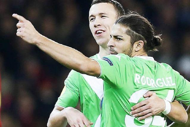 Wolfsburg erreicht K.o.-Runde der Europa League