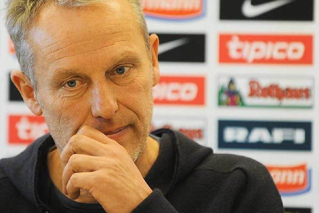 SC-Coach Streich vor 100. Bundesligaspiel: Kein Grund zu feiern