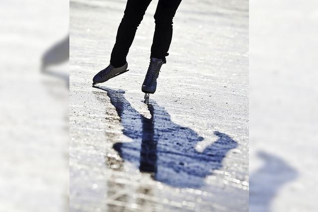 Am Fun-Park entsteht eine Eisfläche zum Schlittschuhlaufen
