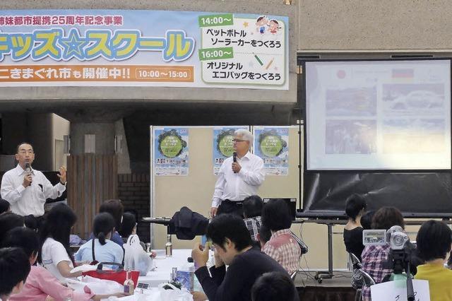 LEUTE IM LANDKREIS: Wie ein Gundelfinger in Japan für Klimaschutz wirbt