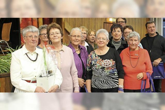 45 Jahre Helferin beim Altennachmittag