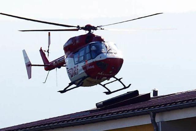 40 Landeplätze für Freiburger Rettungsflieger