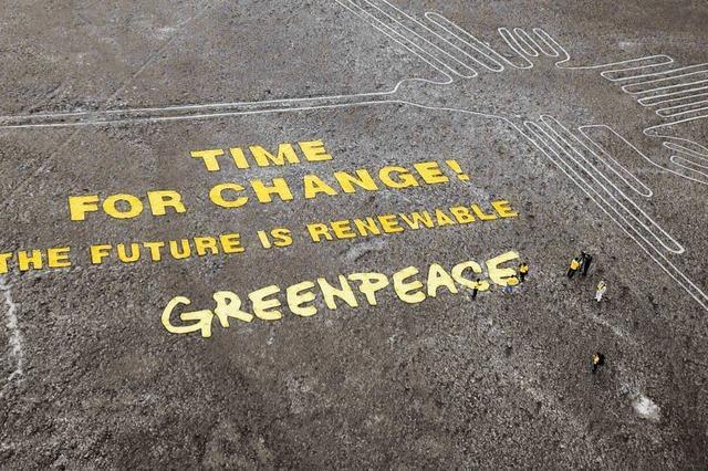 Perus Präsident droht Greenpeace
