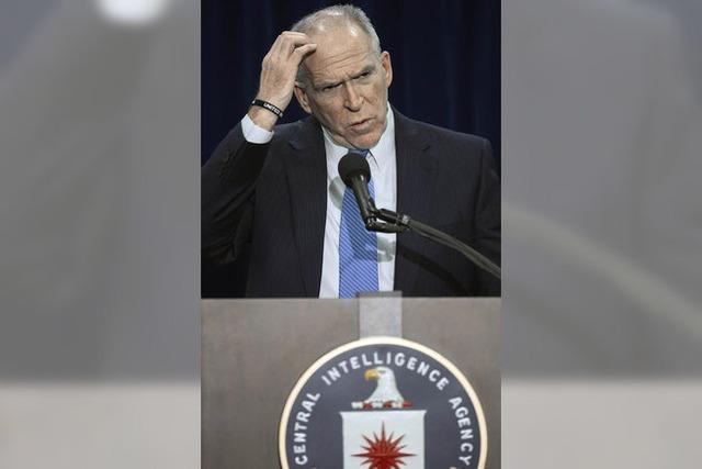 CIA-Chef räumt Fehler ein