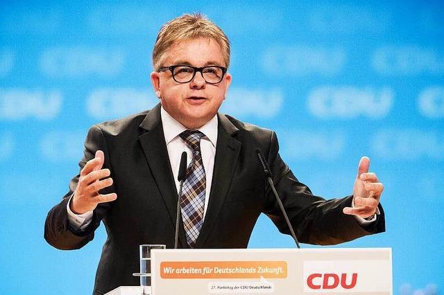 CDU-Politiker Guido Wolf will Landesvorsitzender werden